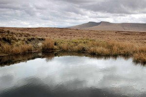 Mountain Photography Courses - Pen-y-Fan and cloud refelctions in water