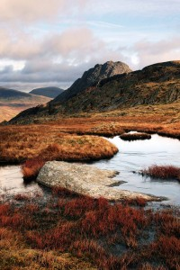 Afternoon light on Tryfan - a beautiful mountain photography day in Snowdonia