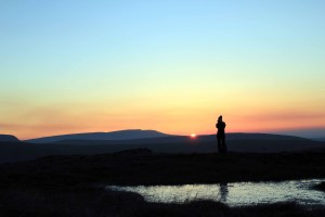 Golden Hour Photogrpahy - Sunset on Fan Fawr
