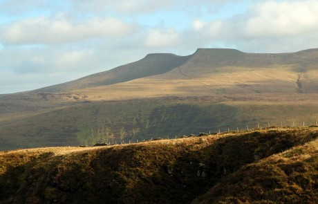 Mountain Photograph - Pen-y-fan from Craig Cerrig Gleisiad a Fan Frynych is a National Nature Reserve