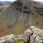 Experiences and events in the Lake District - Mountain Photograph of Great Gable in the Lake District