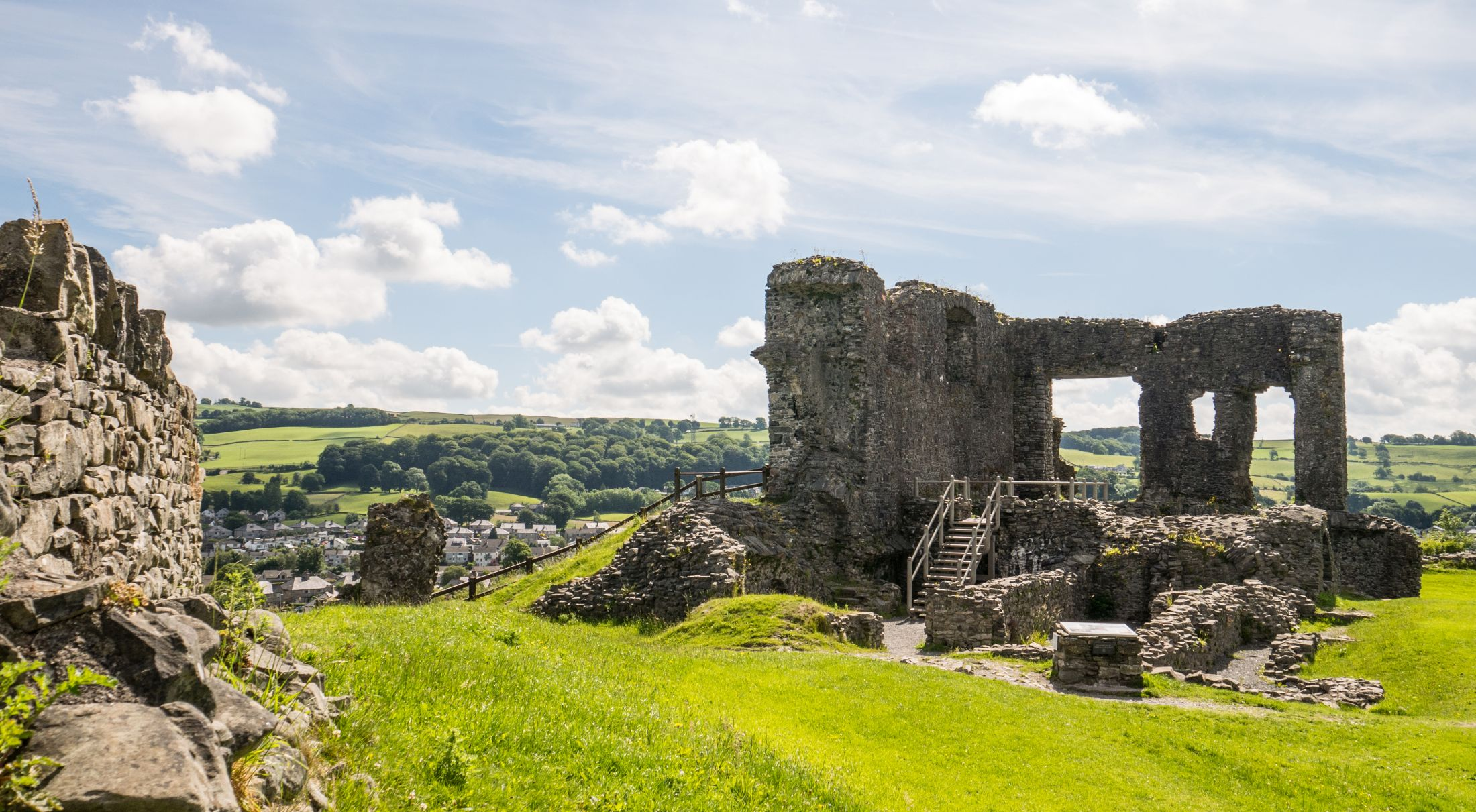 What to do in Kendal - visit Kendal Castle