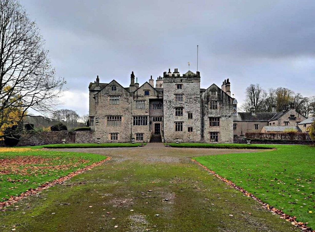 Levens Hall and gardens is rich in tales and legends. The white fawn